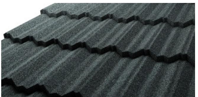 Metalowe dachówki z posypką skalną GERARD CLASSIC