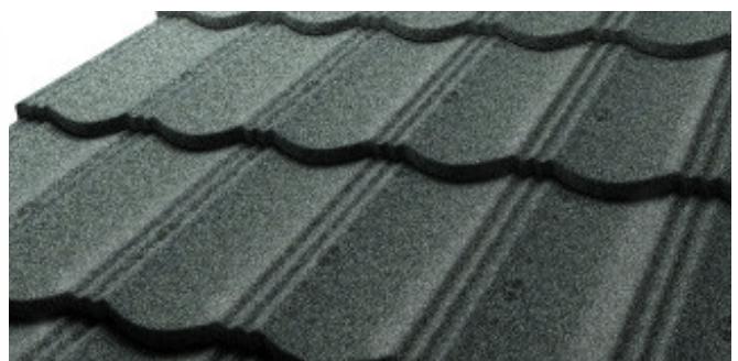 Metalowe dachówki z posypką skalną GERARD HERITAGE