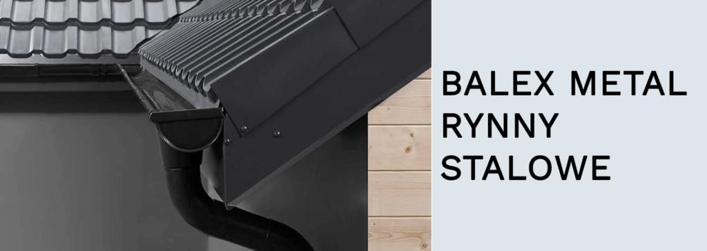 RYNNY STALOWE BALEX METAL