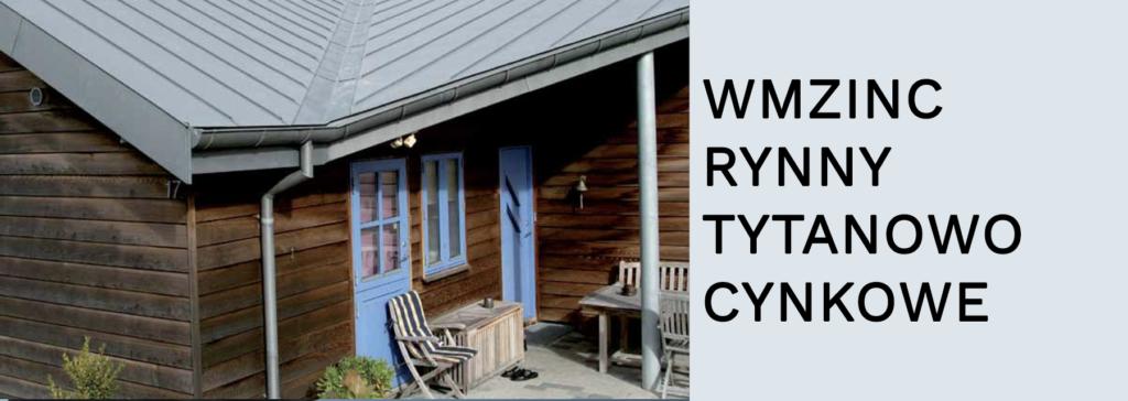 RYNNY TYTANOWO CYNKOWe VMZINC