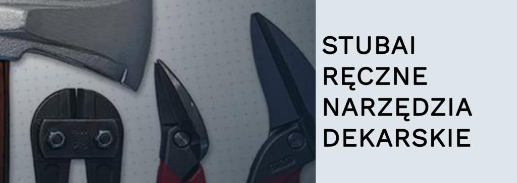stubai ręczne narzędzia dekarskie