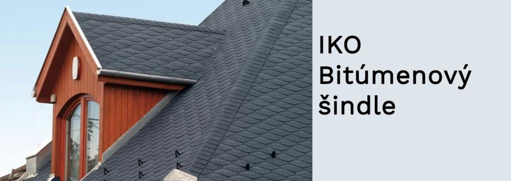 IKO - Bitúmenový šindle