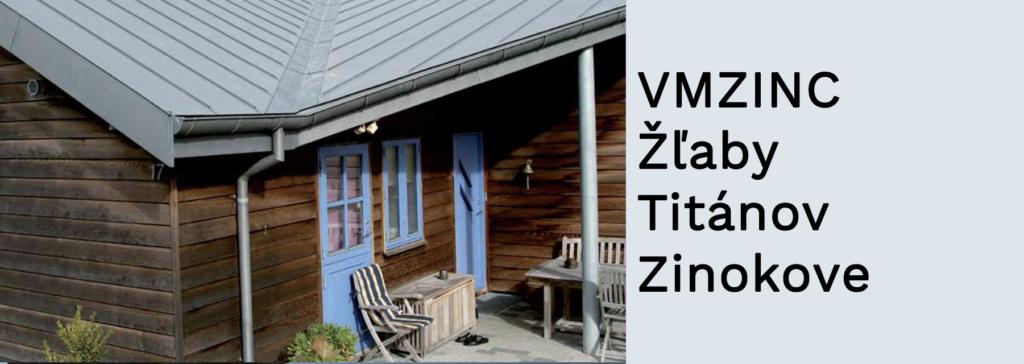 VMZINC - Žľaby Titánov Zinokove